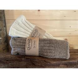 Muffole in lana